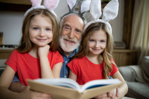 Easter activities at our assisted living community